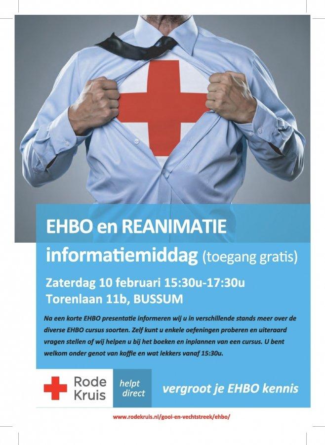 Open Dag Ehbo Rode Kruis